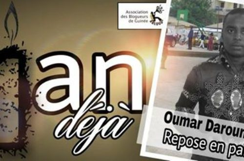 Article : Quand la vie tue la mort par la disparition d'Oumar Bah