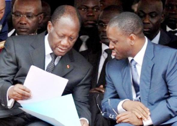 Alassane Ouattara, Guillaume Soro ; Cote d'ivoire; plainte France,
